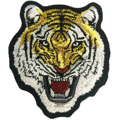 Tiger Fury Vintage Embroidered Patch