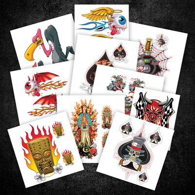 Kustom Kulture Sticker Pack