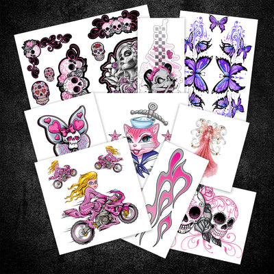 Girls Sticker Decal Pack