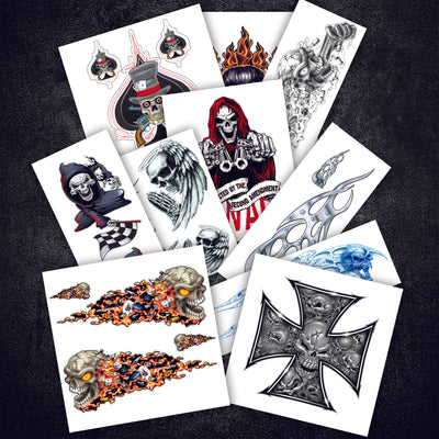 Skulls Value Sticker Pack