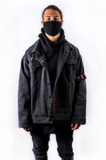 Sub Division Denim Jacket - Ash