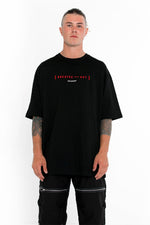 Breathe Out Tee - Black