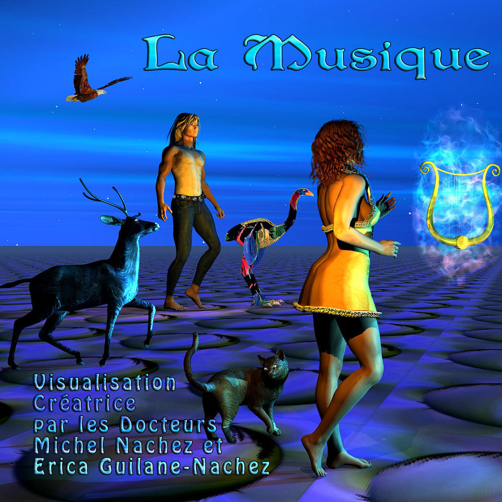 MP3 aidio - La Musique - visualisation guidée - Michel Nachez - CD de relaxation