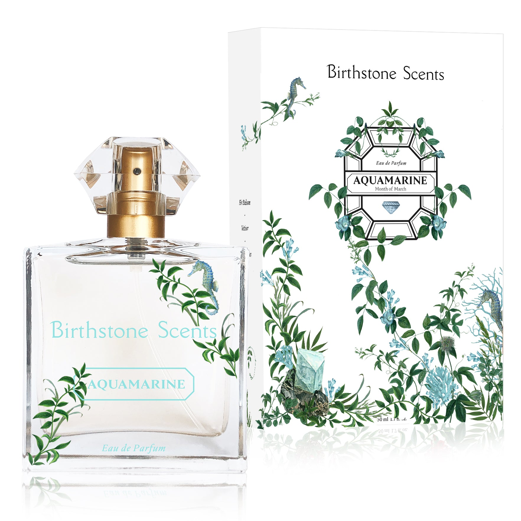AQUAMARINE PERFUME | March - Birthstone Scents
