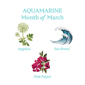 AQUAMARINE CANDLE | March - Birthstone Scents