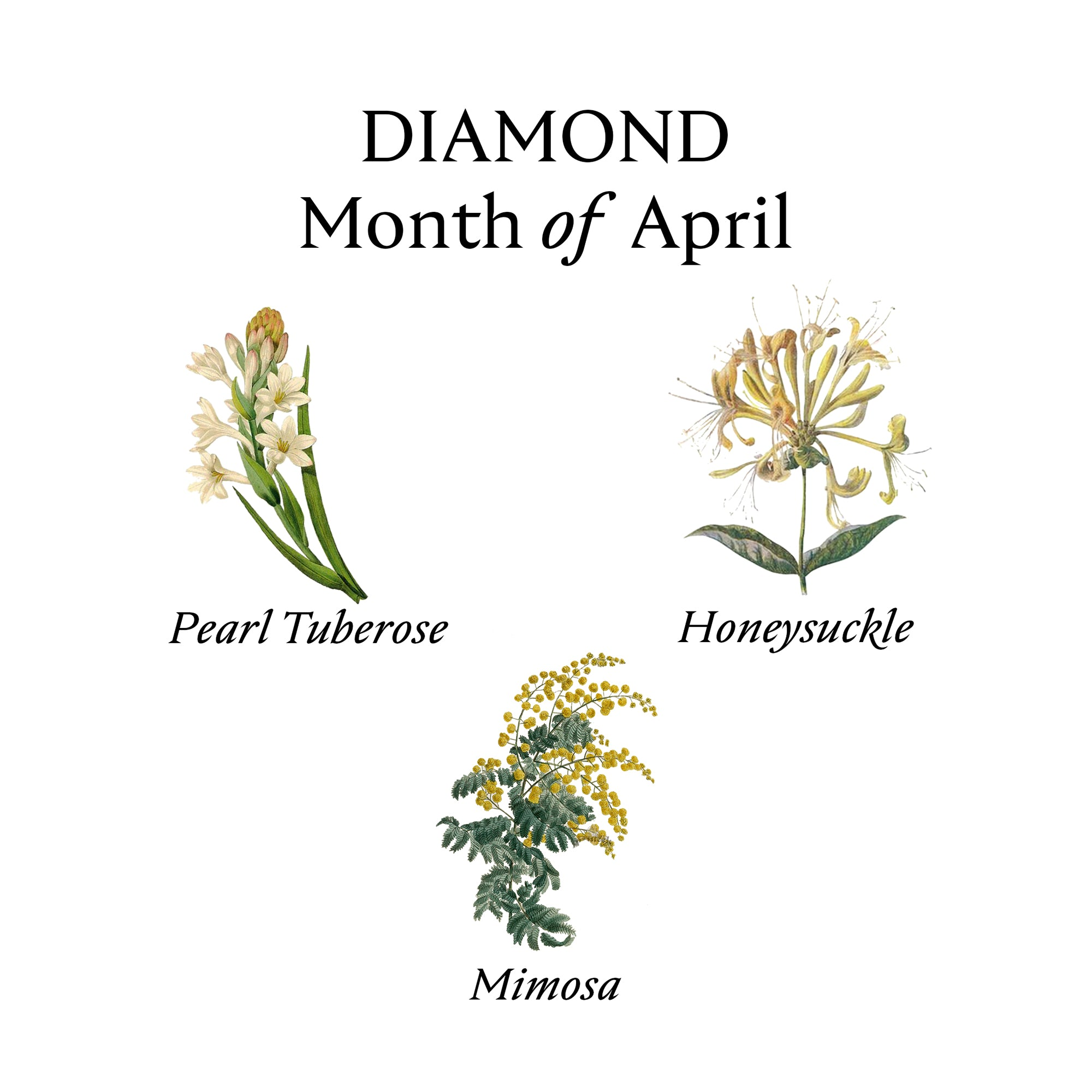 DIAMOND PERFUME OIL | April - Birthstone Scents