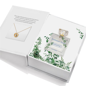 MOONSTONE PERFUME WITH NECKLACE | June - Birthstone Scents