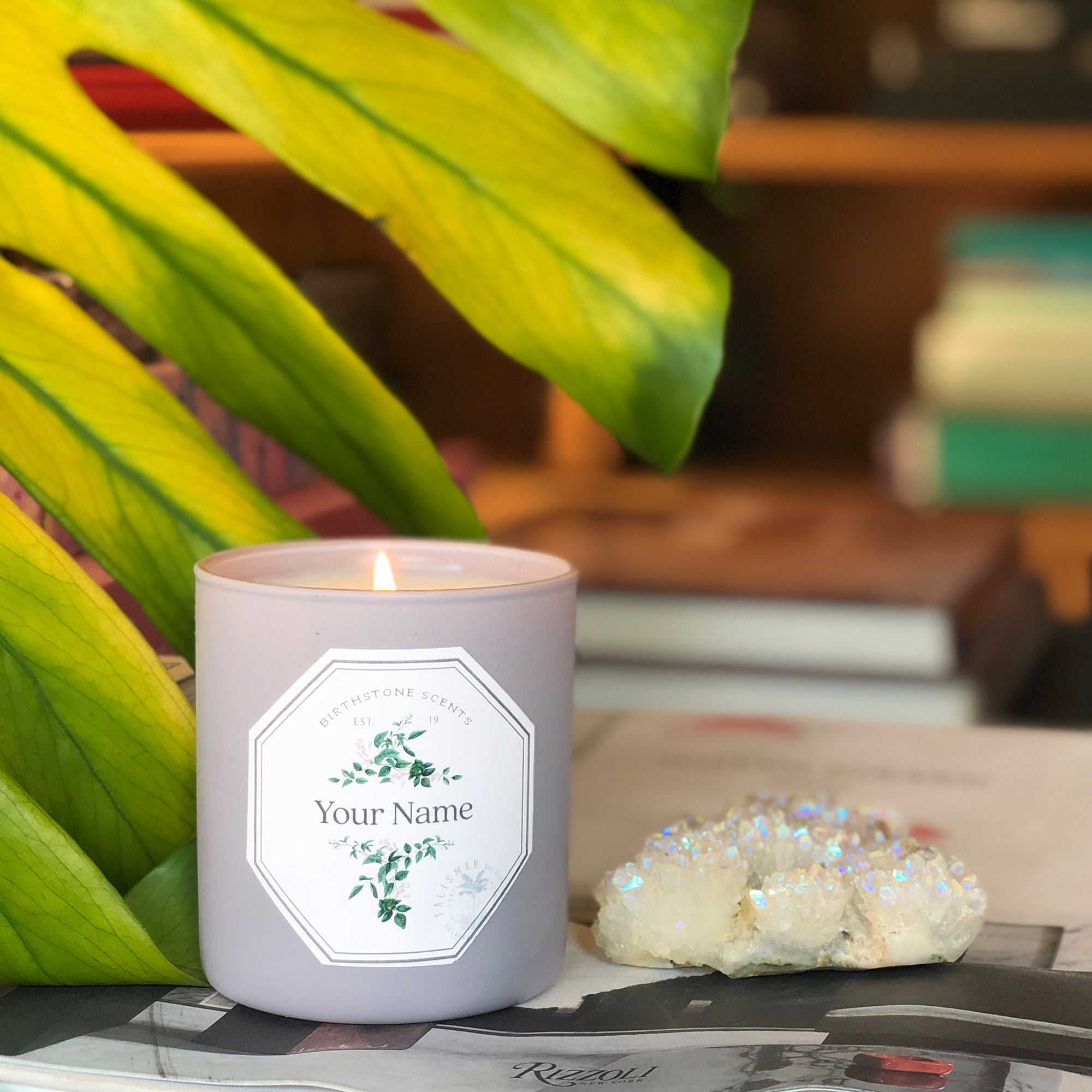 Personalize Your Candle