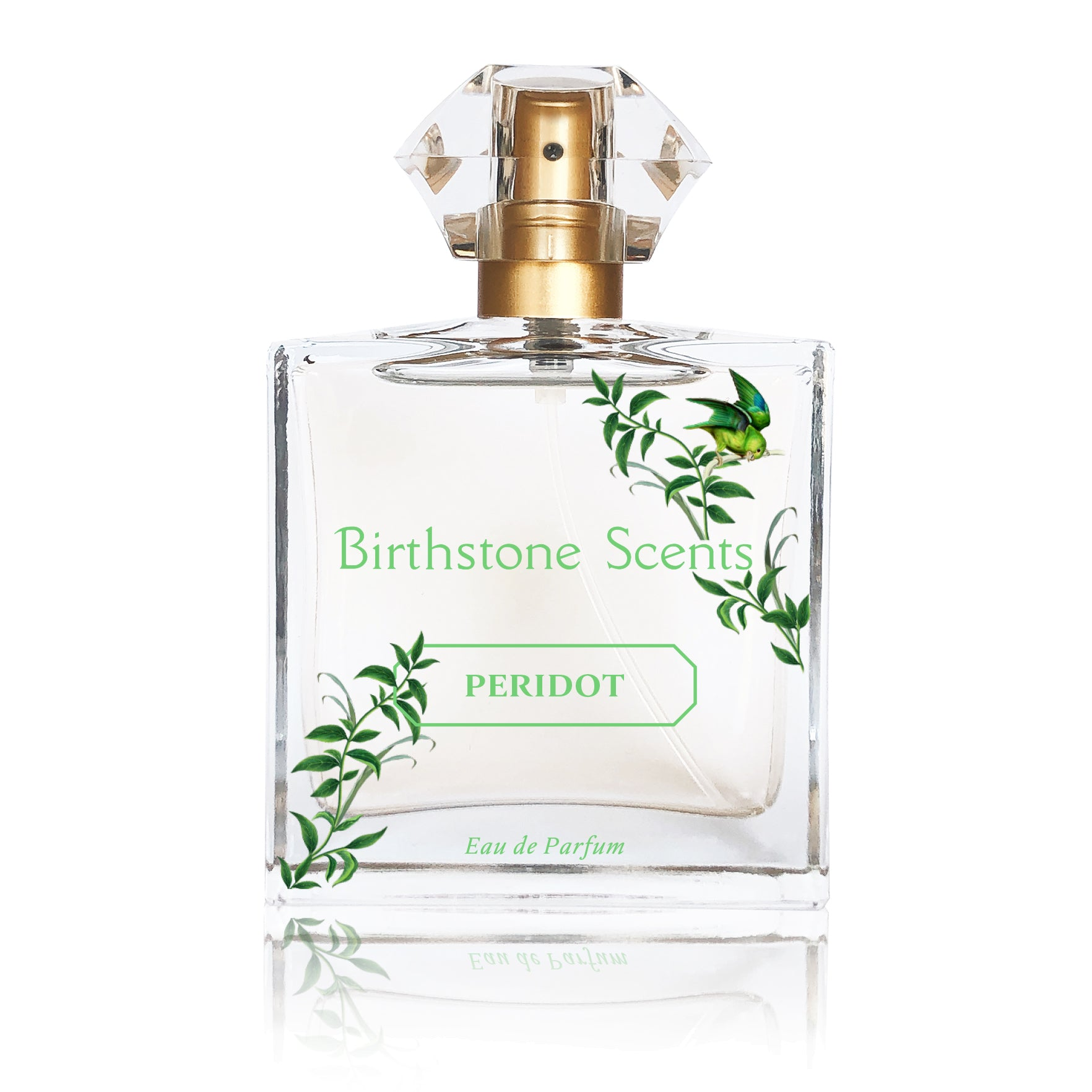 PERIDOT PERFUME WITH NECKLACE | August - Birthstone Scents