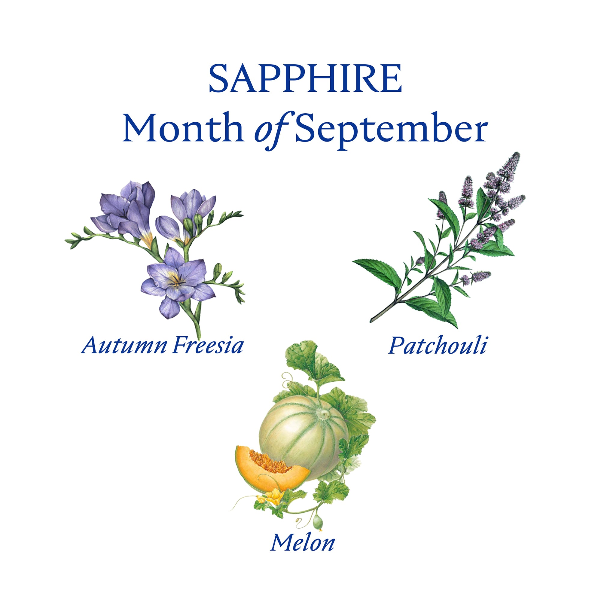 SAPPHIRE CANDLE | September - Birthstone Scents