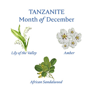 TANZANITE CANDLE | December - Birthstone Scents