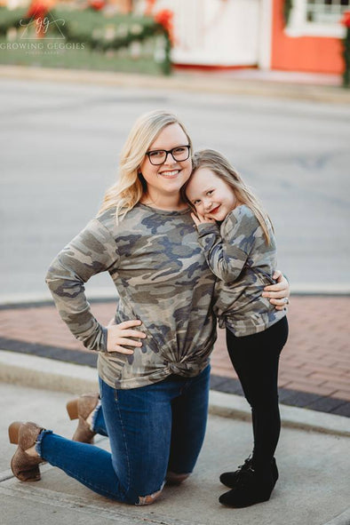 Mommy Me Camo Top