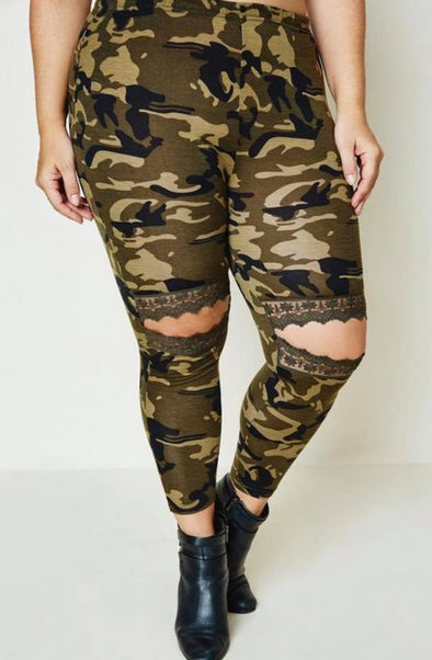 Camo Knee Legging