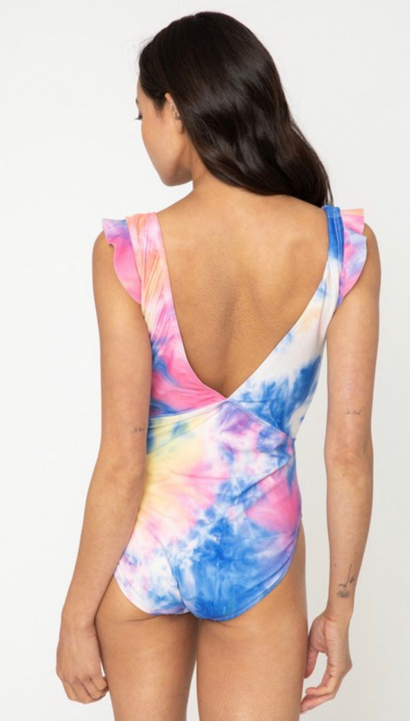 Women's Tie Dye Swimsuit