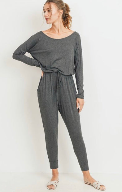 Wide Neck Jumpsuit