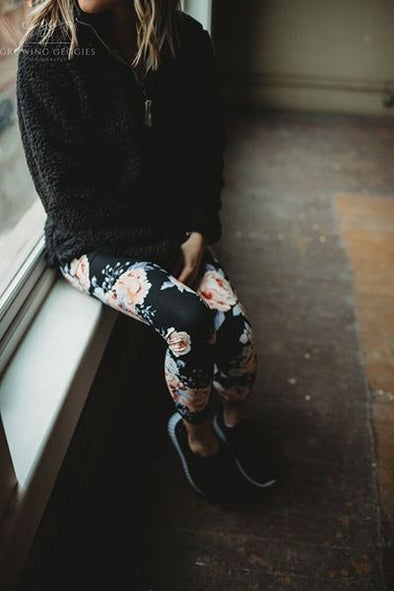 Buttery Floral Legging