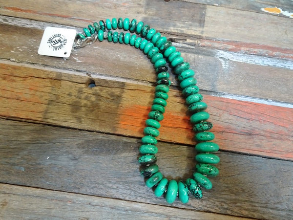 Chunky rondelle necklace