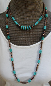 Western choker and layering necklace