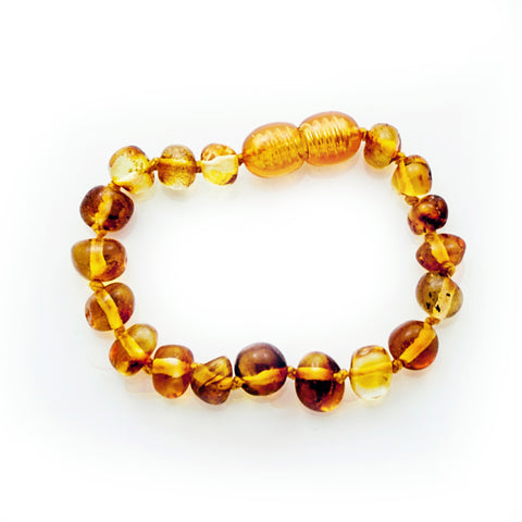 Baby teething necklace, Amber necklace, Baltic amber teething necklace, Baby bracelet, Amber bracelet, Baby bracelet