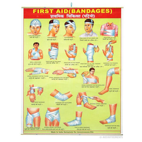 First Aid / Bandages Poster