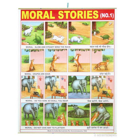 Moral Stories Poster #1
