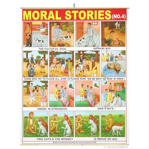 Moral Stories Poster #4