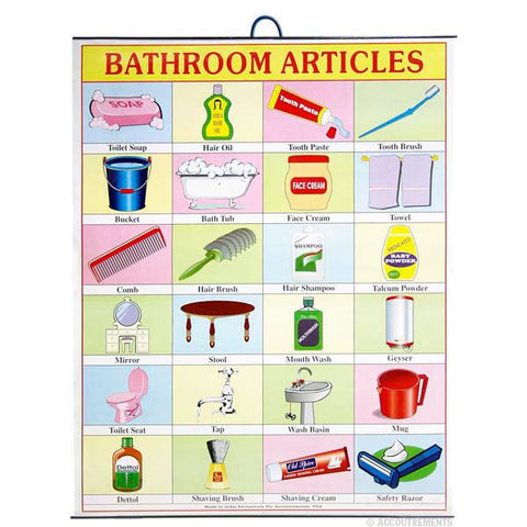 Bathroom Articles Poster