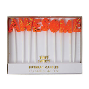 Awesome Celebration Candles