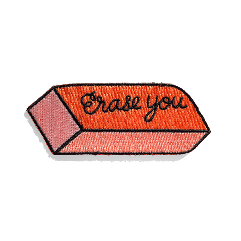 Erase You Sticker Patch