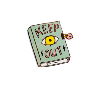 Keep Out Pin
