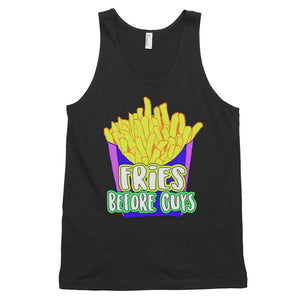 Fries Before Guys Unisex Tank Top