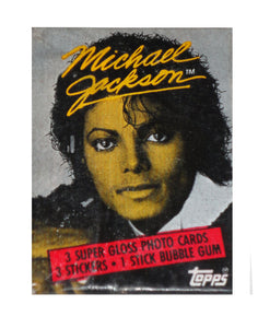 Michael Jackson Trading Card Pack