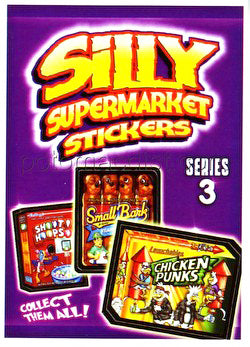 Silly Supermarket Sticker Pack
