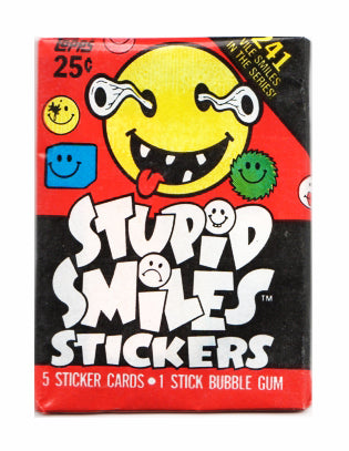 Stupid Smiles Sticker Pack