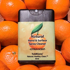 YukBGone Natural Hand & Surface Cleaner - Citrus Scent