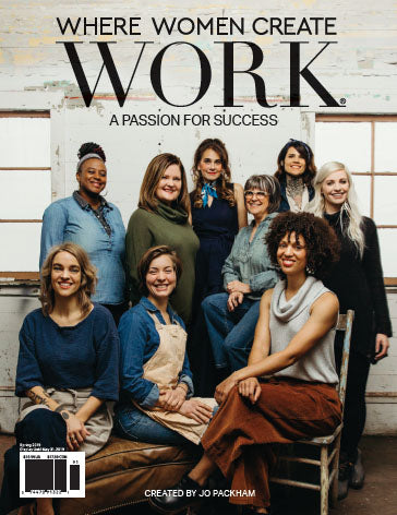 Where Women Create Work Magazine