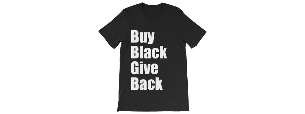 Buy Black Give Back Tee