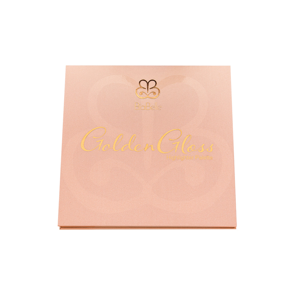 BiaBelle Tan & Golden Gloss Highlighter Palette