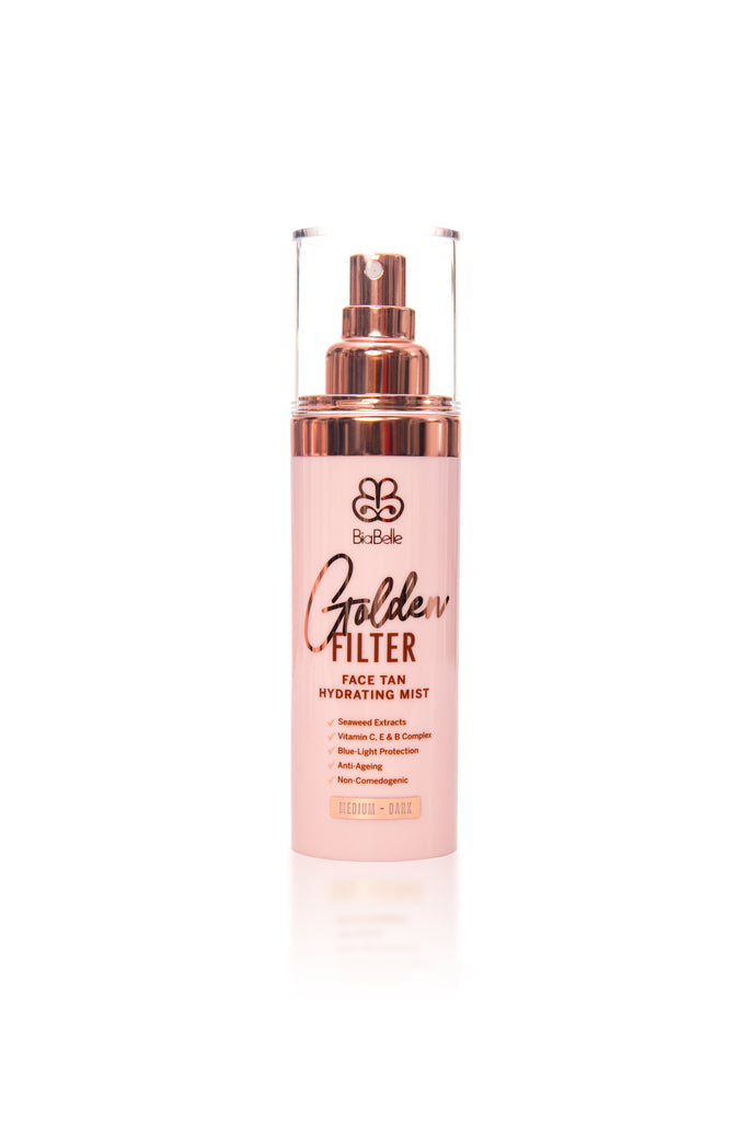 Golden Filter Face Tan & BiaBelle Ultra Dark Foam Tan