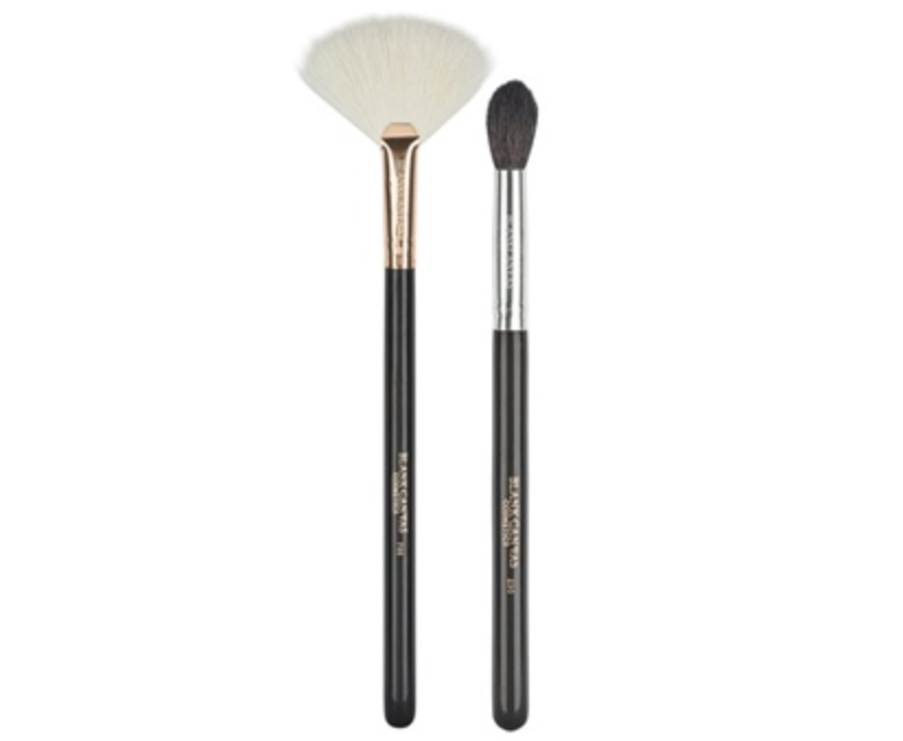 Golden Gloss Highlighter Palette & Highlighter Brush Set