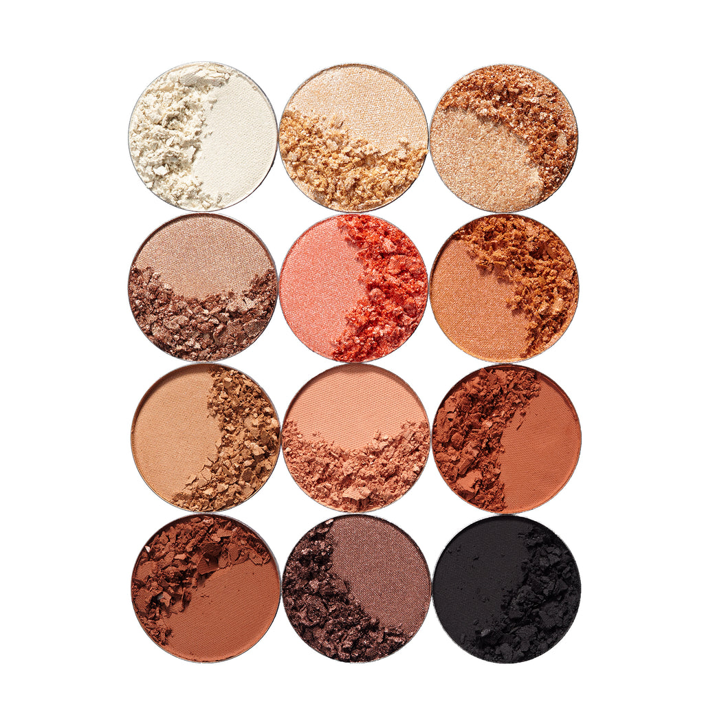 Refillable Bronzed Honey Eyeshadows