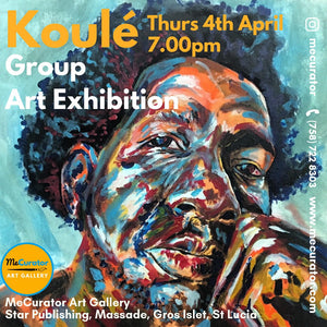 Koulé  Art Exhibition - 4th April 2019