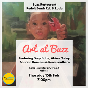 Art At Buzz: Thursday, February 15th @ 7:00pm