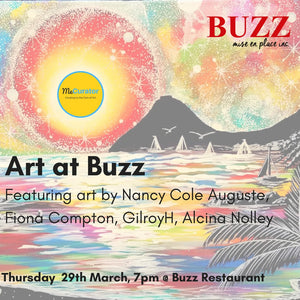 Art at Buzz: Thursday, March 29th @7pm