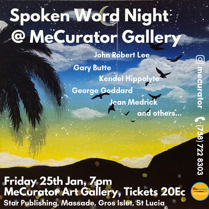 Spoken Word Night - Fri 25th Jan 2019