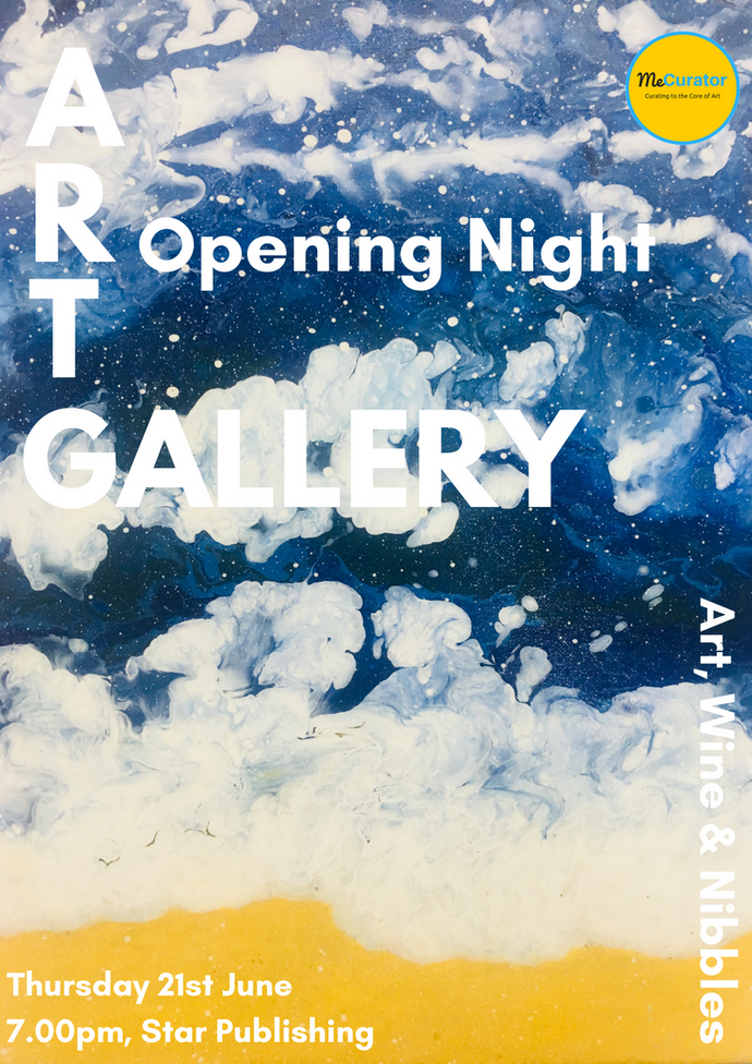 MeCurator Art Gallery - Openining Night