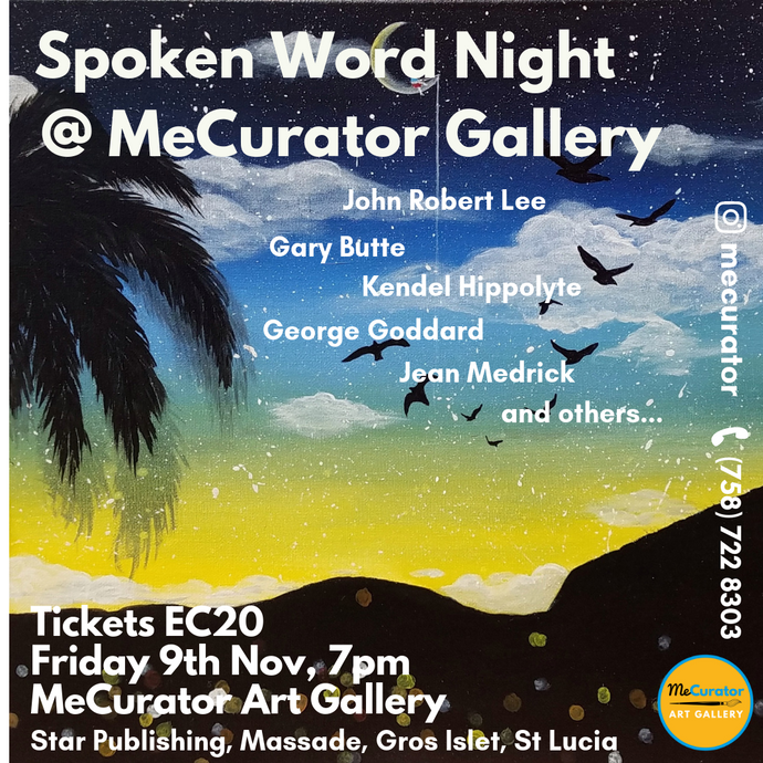 Spoken Word Night - Friday 9th Nov 2018, 7pm