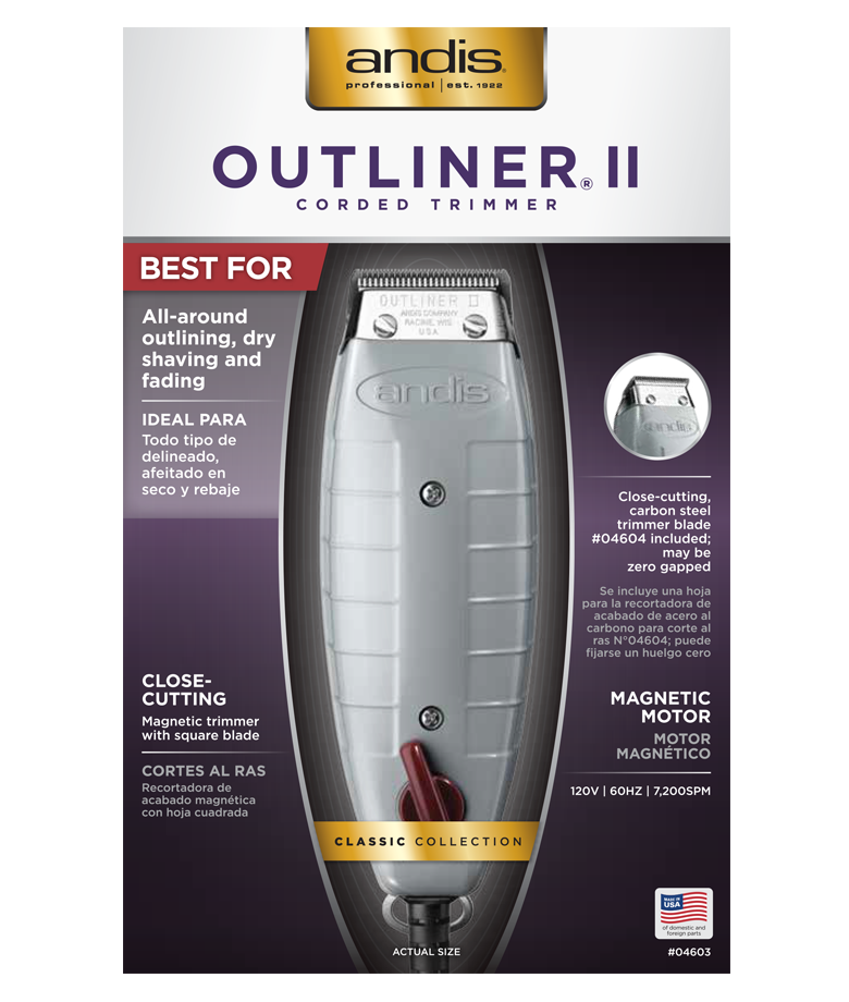 ANDIS Outliner II trimmer for men