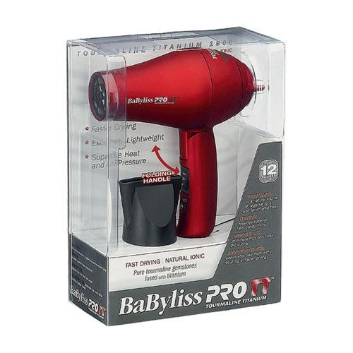 BABYLISS PRO TT Toumaline Titanium travel dryer