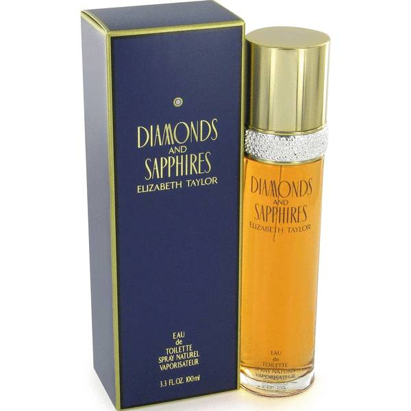 ELIZABETH TAYLOR Diamonds & Sapphires eau de toilette spray